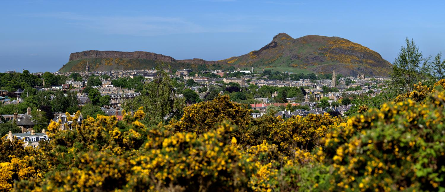 View of Arthur's Seat from Blackford Hill, Edinburgh